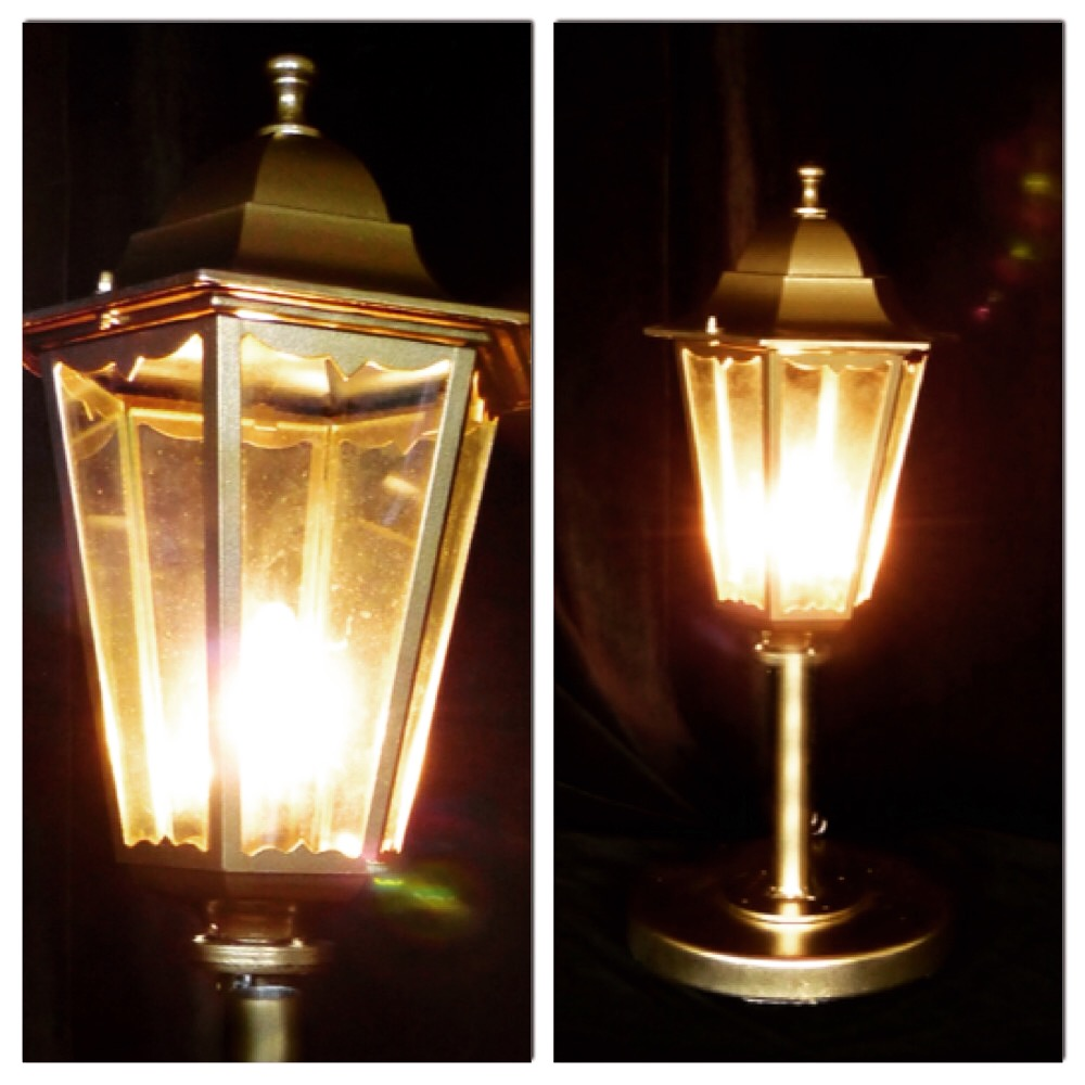 Золотой Петербургский фонарь от Альфери Эффект