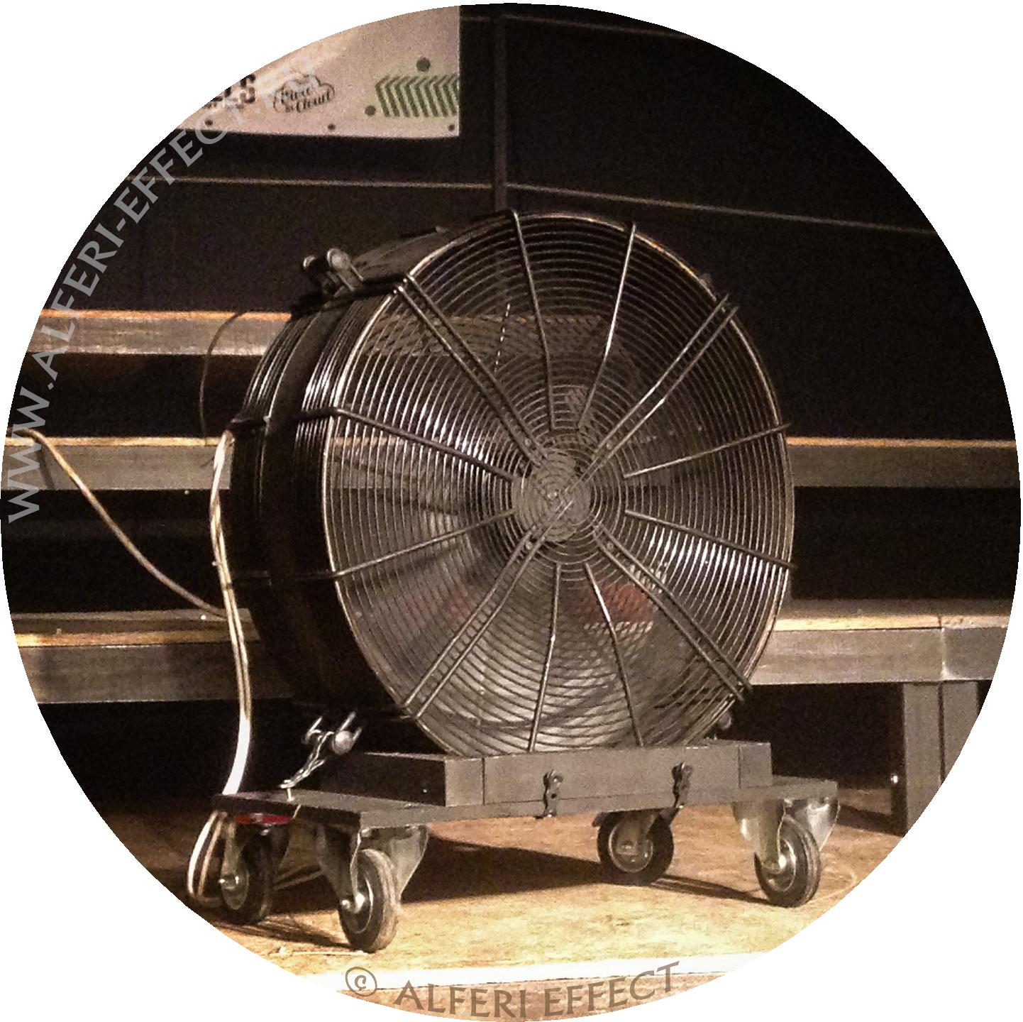 Сценический вентилятор Альфери Эффект