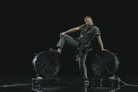 Мощный генератор ветра от Альфери Эффект - съемки клипа Иван Дорн