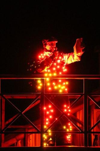 Светодиодный костюм Light men от Альфери Эффект