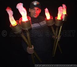 Факел имитация пламени для театра от Альфери Эффект