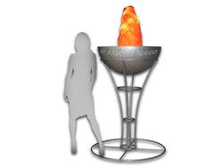 Олимпийская чаша с имитацией пламени - продажа,аренда - Альфери Эффект