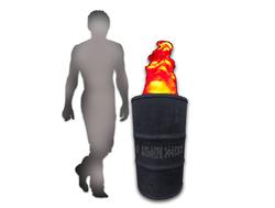 Гарлемский огонь - искусственное пламя от Альфери Эффект