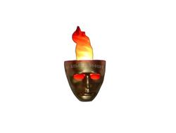 Бра настенное с имитацией огня - Альфери Эффект