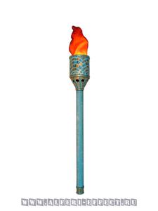 Факел с искусственным пламенем морская тематика - Альфери Эффект